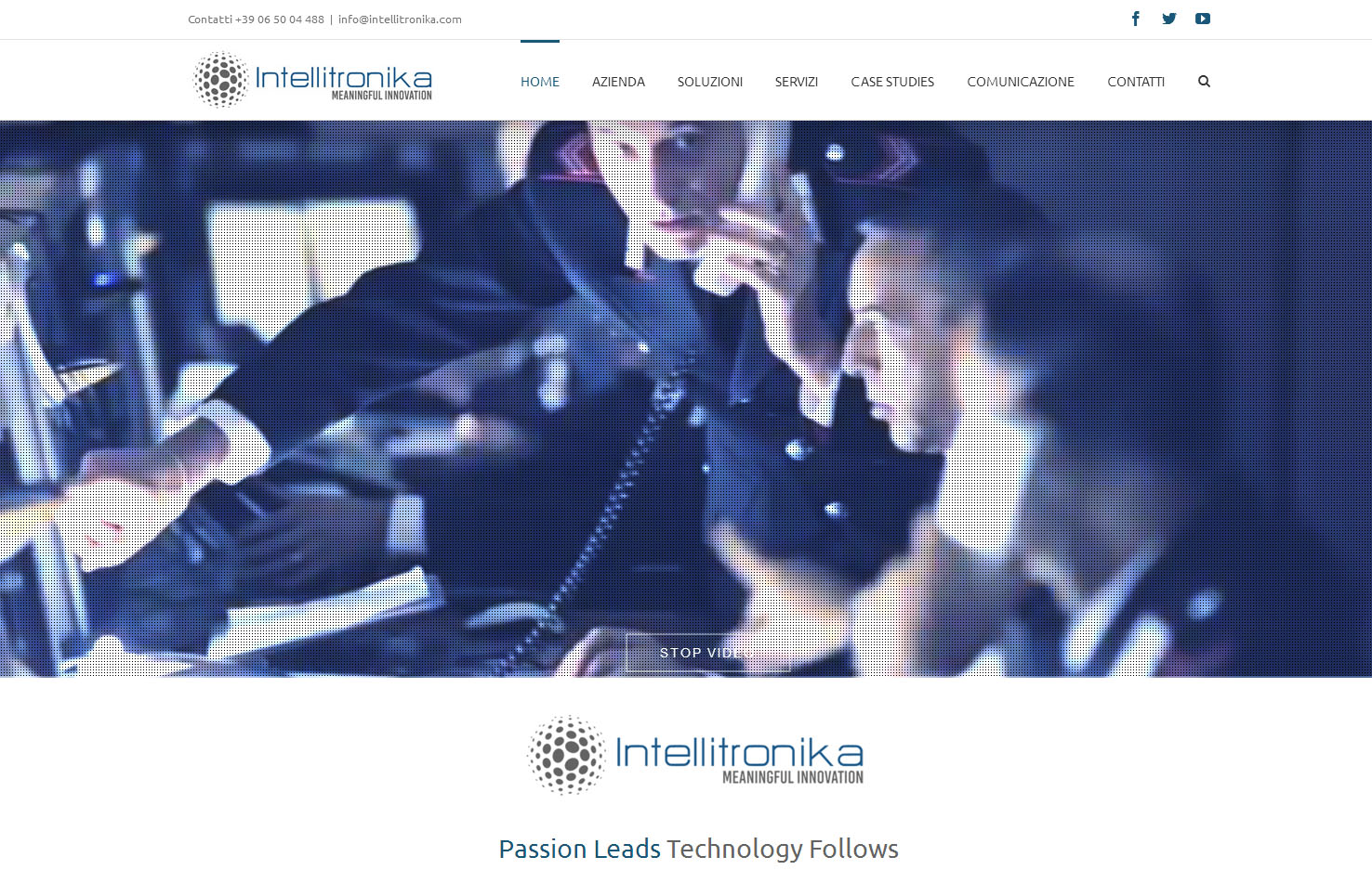 Intellitronika Sito Web 2016