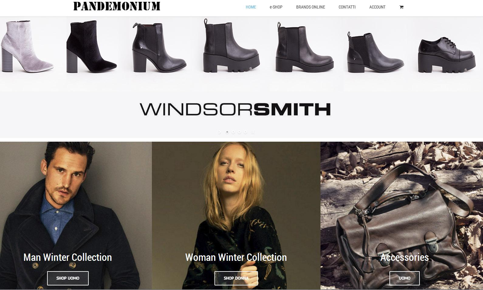 Pandemonium – Restyling Web – Novembre 2017