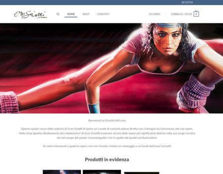 Enzo Sciotti – Restyling sito web ecommerce – Settembre 2019