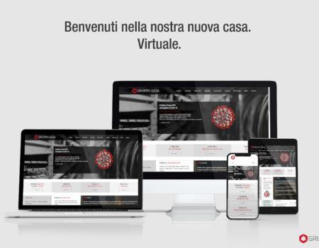 Gruppo Gesa – New Web Site – 2020