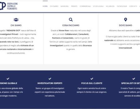 INDAGINI OCP – New Web Site -2020